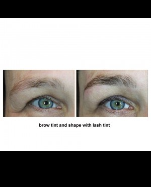 Brow Tint And Shape With Lash Tint