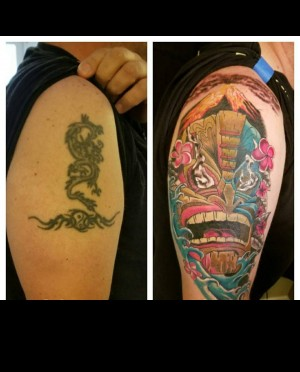Tiki cover up